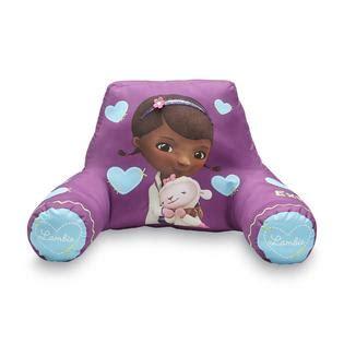 disney frozen toddler plush cushion bed rest pillow brand disney girl s bed rest pillow doc mcstuffins