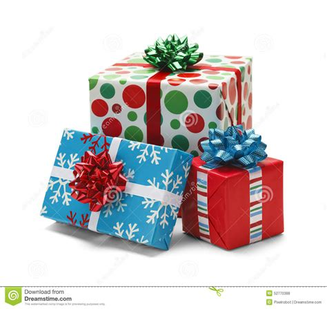 christmas presents stock photo image 52770388