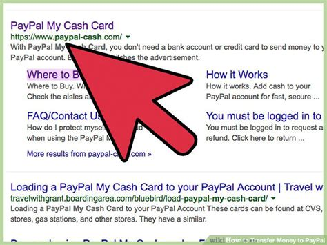 How To Transfer Gift Card Money To Paypal - how to transfer money to paypal with pictures wikihow