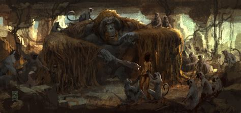 Artwork Book the jungle book concept by vance kovacs concept