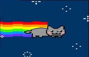 Nyan Cat Nyan Cat Images Nyan Cat Out Of The Pop Tart Hd