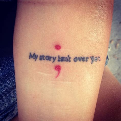semicolon tattoo meaning self harm 17 best images about tattoos on just breathe