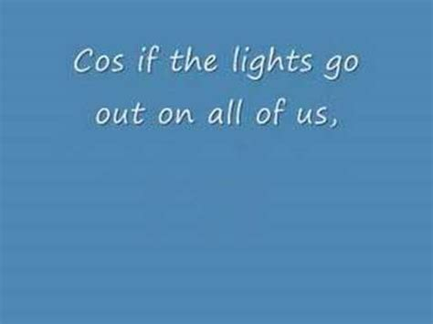 When The Lights Go Out Lyrics by Melua If The Lights Go Out Lyrics 3