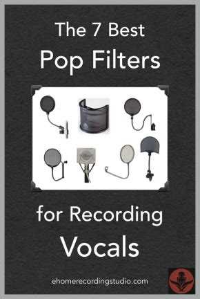 the 7 best microphone pop filters for recording vocals