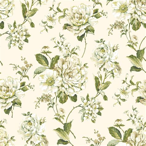 Floral In Green bethany floral green wallpaper departments diy