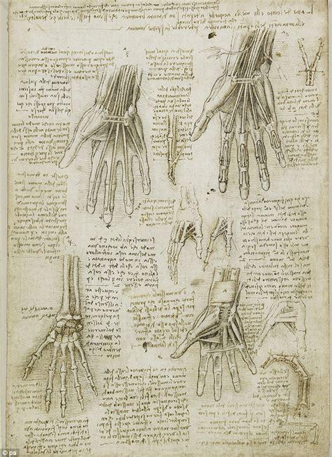 biographical comparative chart leonardo da vinci and michelangelo leonardo da vinci s drawings 100s of years ahead of his