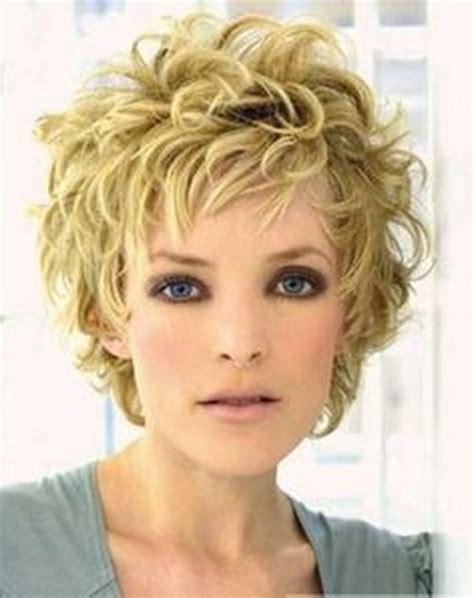 haircuts for frizzy wavy thick hair for older women best curly haircuts short hairstyles for older women