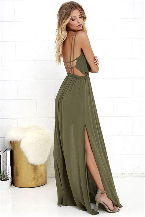 25 best ideas about open back maxi dress on