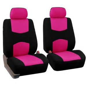Fabric Car Seat Covers Pair Fabric Seat Covers For Detachable Headrest
