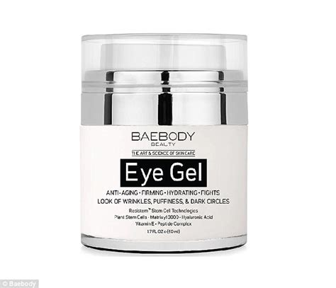 banish eye wrinkles forever baebody eye gel promises to banish circles daily