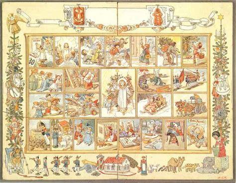 Printable German Advent Calendar | traditional advent calendars for a beautiful christmas