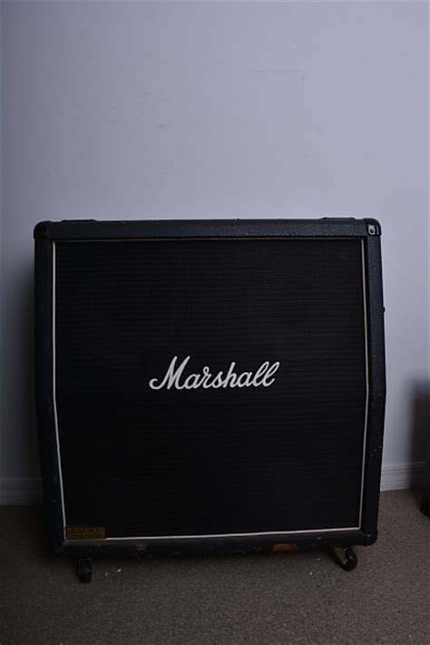 marshall jcm 800 4x12 cabinet marshall jcm 800 lead series 1960a 4x12 cab reverb