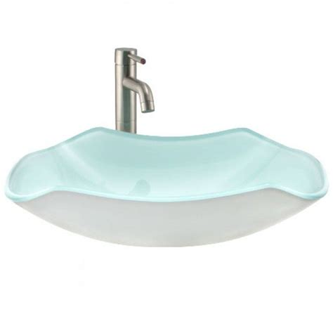 rectangular clear glass vessel sinks the 25 best glass vessel sinks ideas on glass