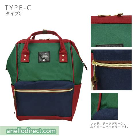 Anello Bag Series Original Green At B0193a anello polyester canvas backpack rucksack regular size at b0193a