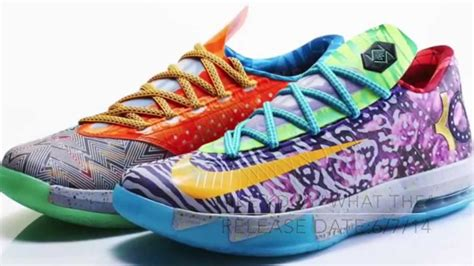color ways top 10 kd vi 6 colorways