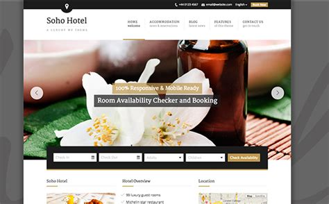 free bootstrap templates for resorts 8 best travel and hotel bootstrap templates download free
