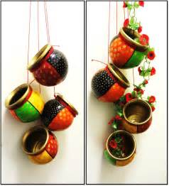 How To Decorate Pot At Home Indian Painted Clay Pots Painted Lots Of Terracotta Products For Home Decor