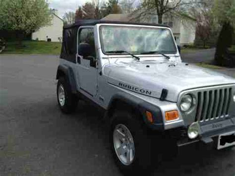 Used 2 Door Jeep Wrangler by Buy Used 2005 Jeep Wrangler Rubicon Sport Utility 2 Door 4