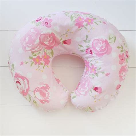 boppy pillow in crib her rosebud floral crib baby bedding set
