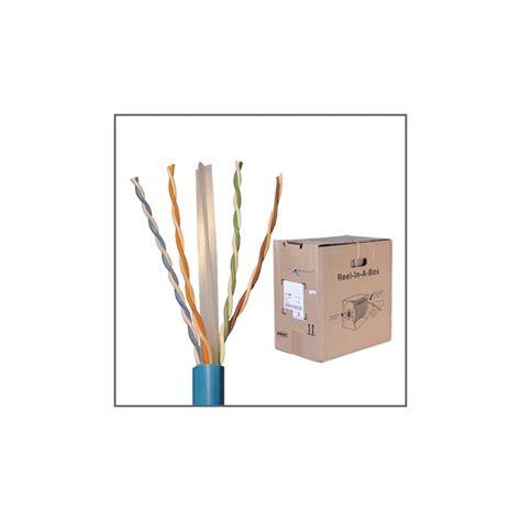 Kabel Kabel Cable Utp Cat6 Blue 1427071 6 cat 6 utp cable 24 awg cm 250 mhz pantipcommart