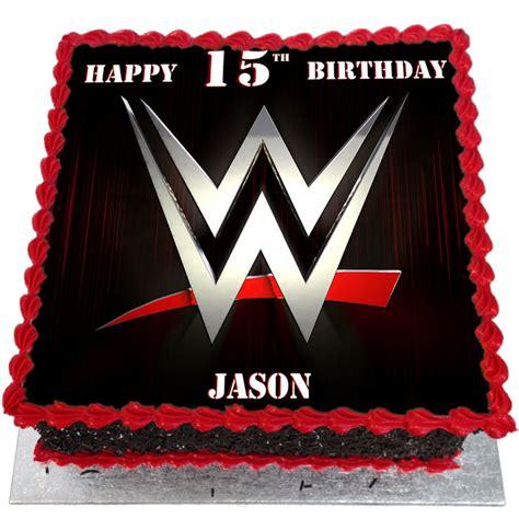 Home Decoration Logo by Wwe Network Logo Birthday Cake Flecks Cakes