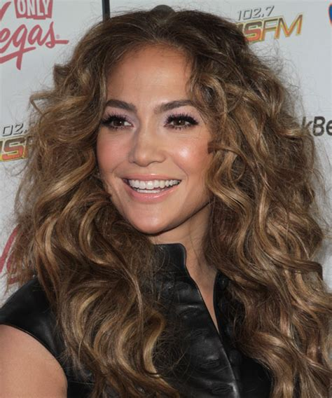 J Lo Hair New Short Curly 2014 | jennifer lopez long curly casual hairstyle light brunette