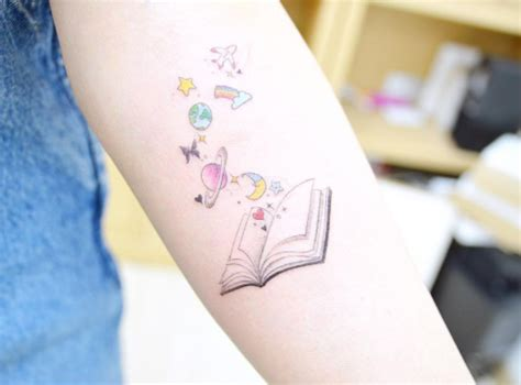 tattoos books designs 40 amazing book tattoos for literary tattooblend