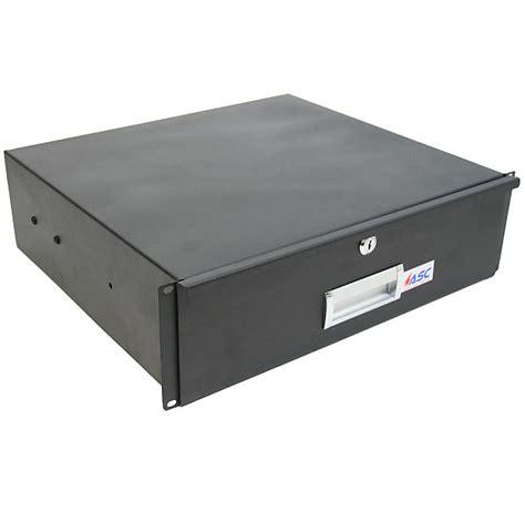 rack mount drawer 3u 19 quot rack mount 3u locking drawer pro dj or server