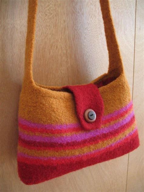 felt handbag pattern 101 best images about crochet knit first and felt