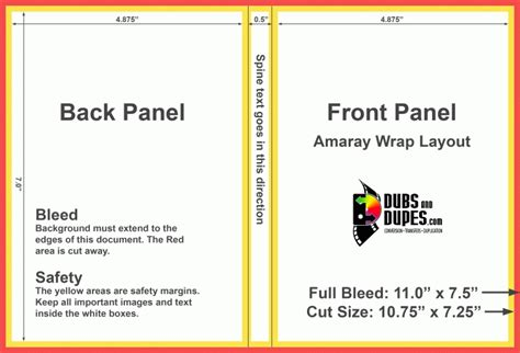 dvd booklet template cover dvd cover template