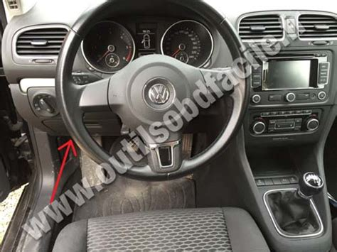 on board diagnostic system 2012 volkswagen golf regenerative braking golf diagnostic port location milf