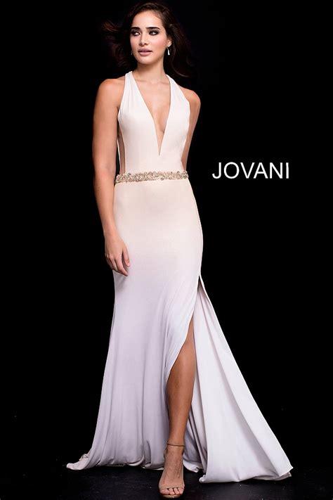 gold white fitted plunging neckline high slit prom dress gold white fitted plunging neckline high slit prom dress