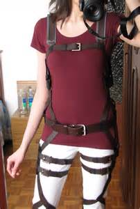 Attack on titan harness tutorial diy cosplay crafting by holiday