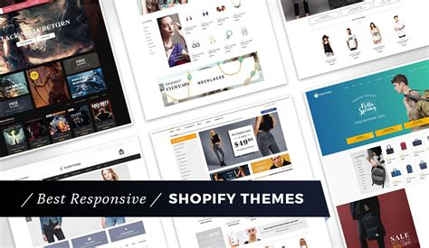 shopify themes 2016 21 best responsive shopify themes for 2018 make a