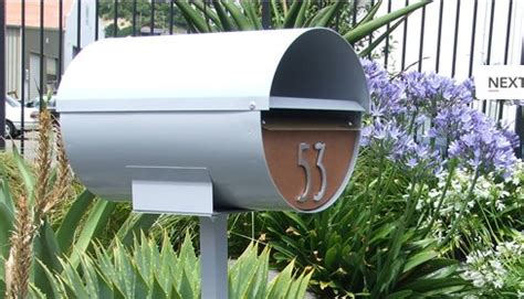 Midcentury Modern Mailbox - a small part of our home s personality a s d interiors blog