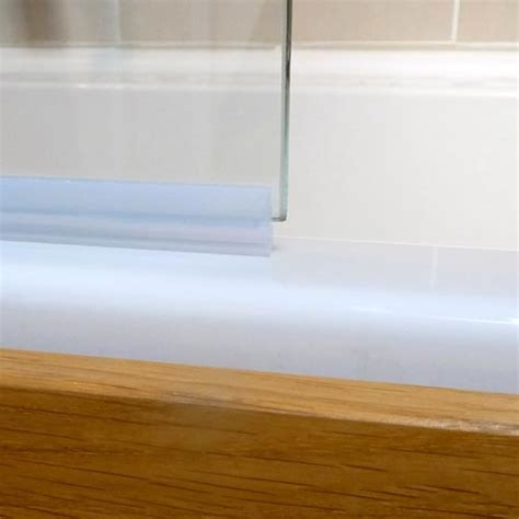 Screen Seal White 1 8mm Byretech Ltd Bathroom Shower Screen Seals
