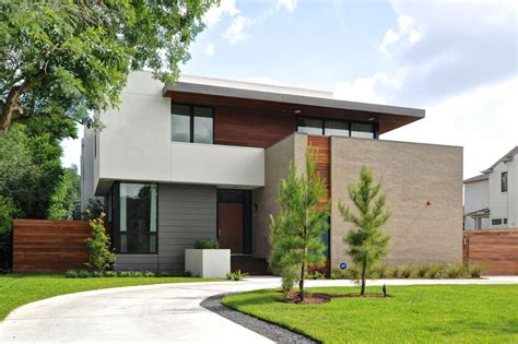 house architectural modern house in houston from architectural firm studiomet