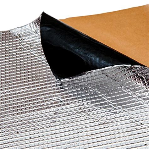 noico 80 mil x 18 sq ft self adhesive foil butyl mat
