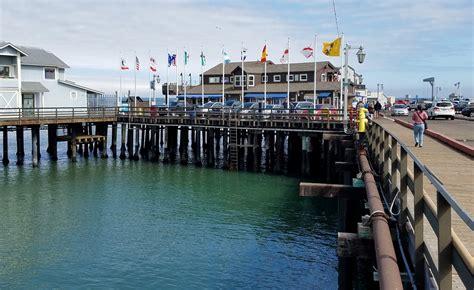Most Beautiful States stearns wharf santa barbara ca california beaches