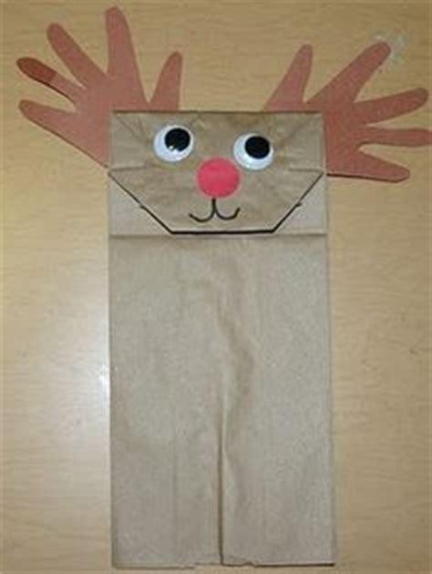 printable reindeer paper bag puppet paper bag puppets on pinterest 37 pins