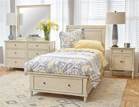 avignon ivory youth storage bedroom set from jofran