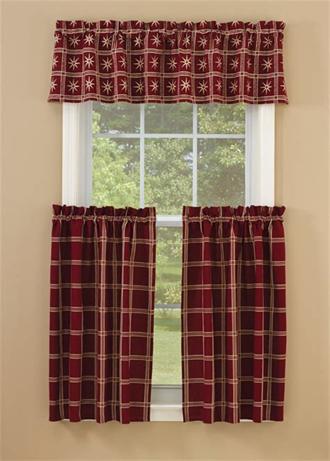 tier curtain pair garnet park designs