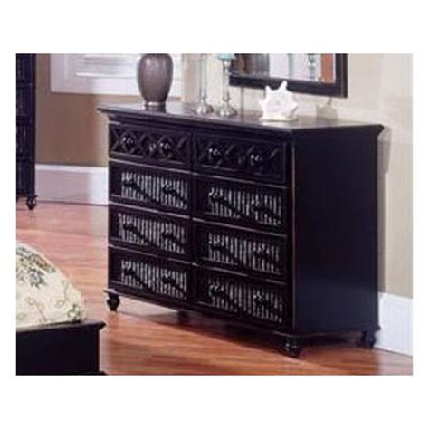 Black Wicker Bedroom Furniture Black Wicker Dresser Home Furniture Design