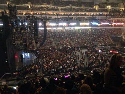 american airlines center section  concert seating