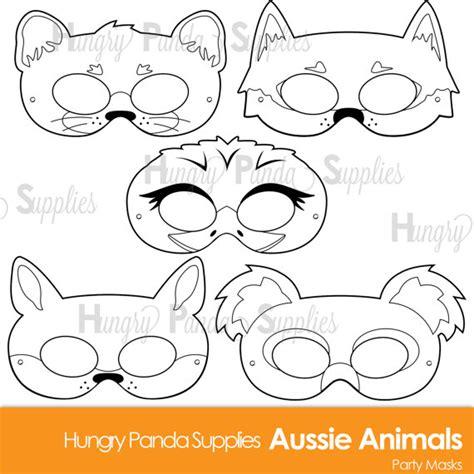 printable possum mask template best photos of australian animal mask templates koala