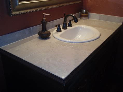 Bathroom Vanity Top Ideas | custom tile vanity top fresh ideas home improvement