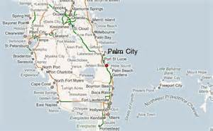 map of palm florida palm city location guide