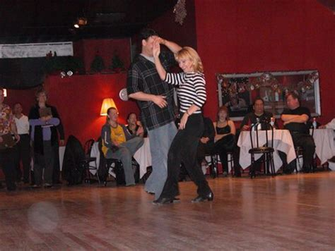 The Chicago Rebels Swing Dance Club At Club 6137