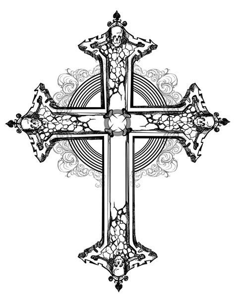 骷髅十字架花纹矢量图片 图片id 337339 流行元素 矢量素材 聚图网 juimg com
