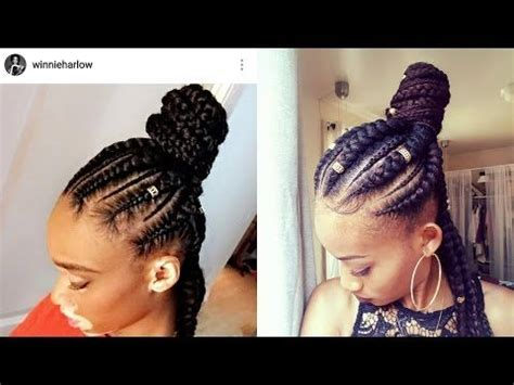 how to jumbo braids |half up half down| ghana braids| feed